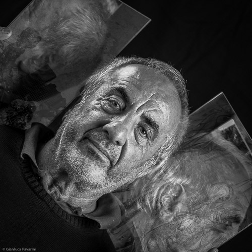 materia ritratto Carluccio Bettoni artista