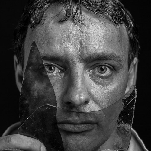 materia ritratto Eros Bontempi artista vetro