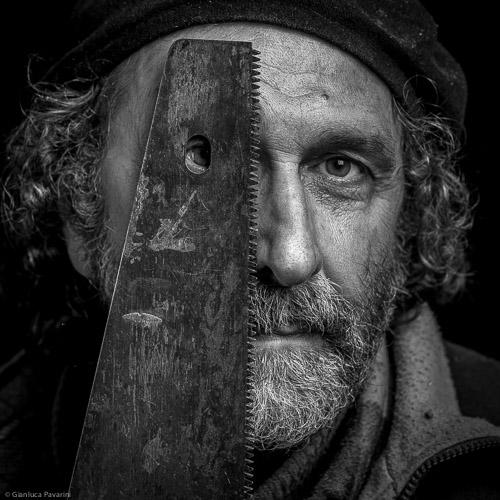 materia ritratto Modesto Bolzoli artista